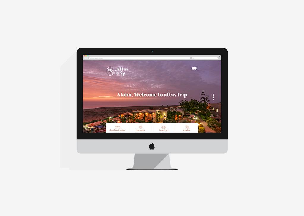 Aftas trip – web design 2019